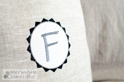Picture of Circle Label Appliques
